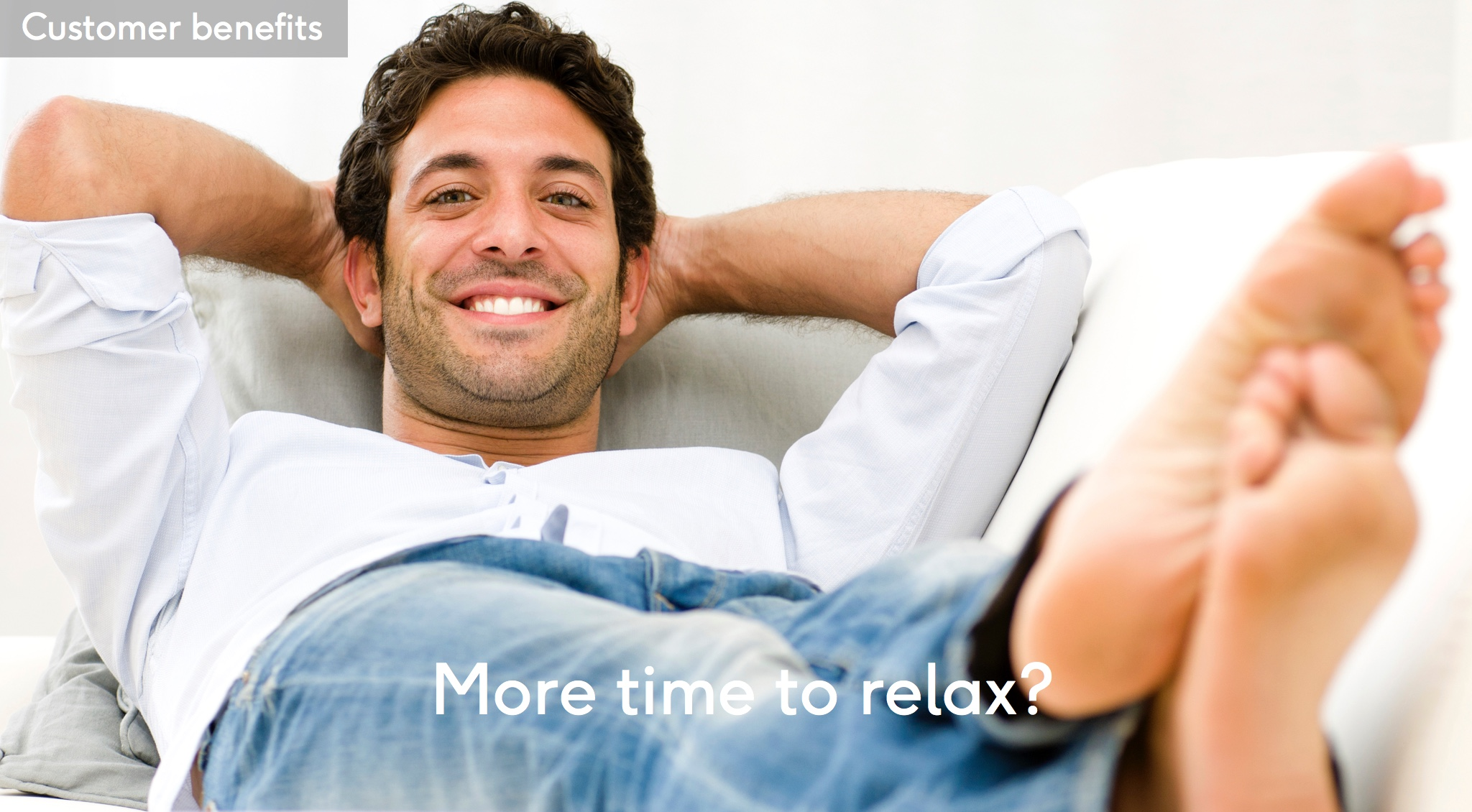 More time to relax?